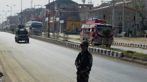 How a Hindu pilgrimage became militarised in disputed Kashmir