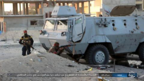 Attackers kill 10 Egyptian soldiers in Sinai bombings