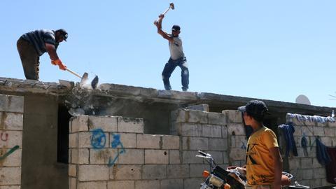 Lebanon's crackdown on Syrian refugee homes, explained