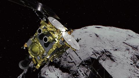 Japan's Hayabusa2 probe makes second asteroid landing