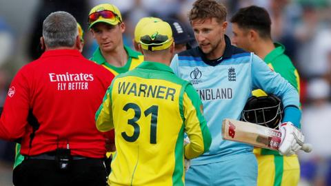 England trounce Australia, reach Cricket World Cup final