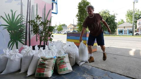 Residents brace as giant storm Barry threatens Louisiana