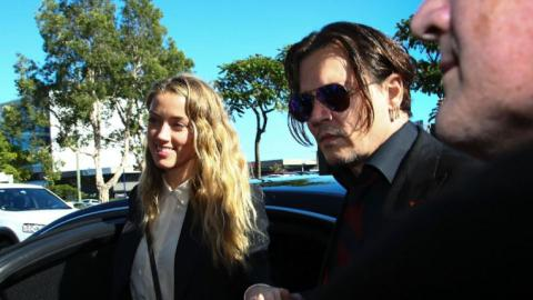 Johnny Depp's wife pleads guilt in dog case in Australia