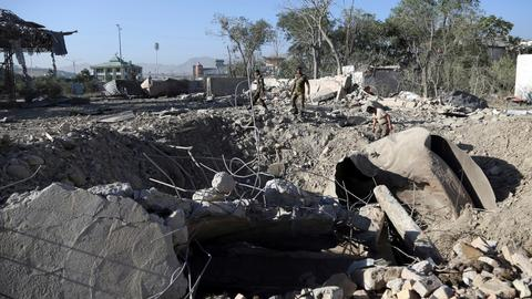 Taliban storm hotel building in west Afghanistan
