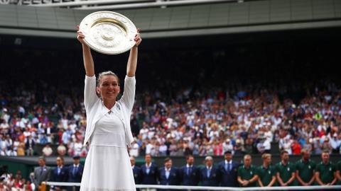 Simona Halep snags Wimbledon title