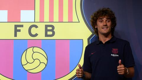 'I want to win it all': Griezmann speaks after joining Barcelona