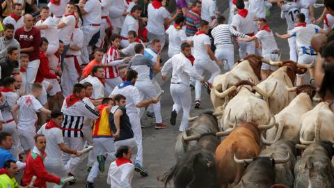 Famous annual Spanish bull run festival ends with further accidents