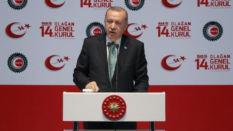 Turkey tries to secure its national interest and peace with S-400 - Erdogan
