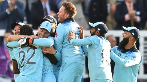 England win Cricket World Cup after Super Over drama