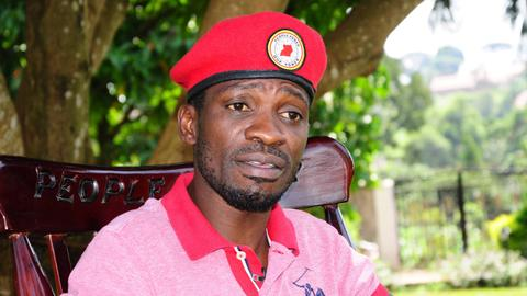 Ugandan singer Bobi Wine says he will run for president