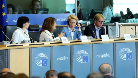 Von der Leyen faces crucial vote in quest to lead EU executive