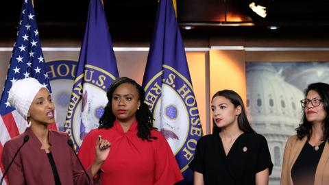 US Congresswomen of colour fight back after being targeted by Trump