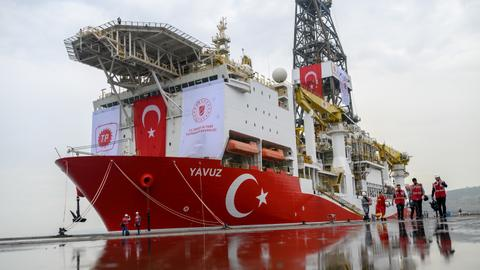 Turkey to send fourth drilling ship to eastern Mediterranean 'soon'