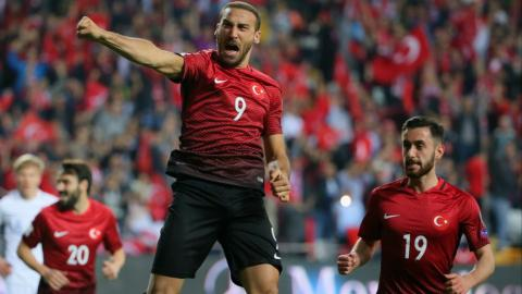 Tosun double helps Turkey beat Finland and boost World Cup hopes