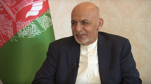 Afghan president rejects interim government as way forward