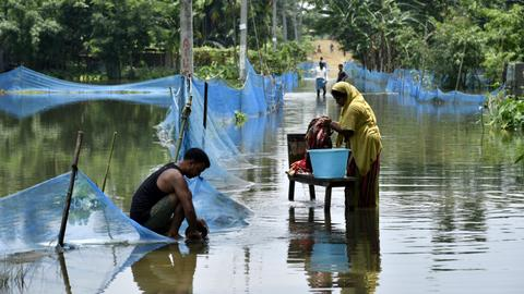 No respite as monsoon rains pound South Asia