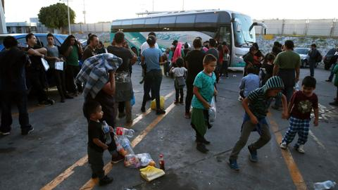 Mexico says migrant numbers down, but warns of an impending crisis