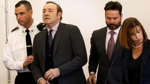 Massachusetts prosecutors drop Kevin Spacey sex assault case