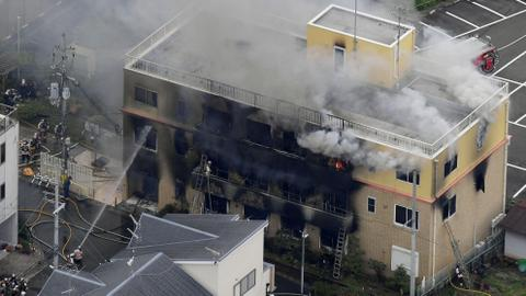 Suspected arson attack on animation studio in Japan kills at least 1