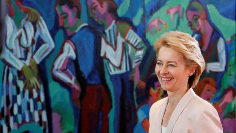 Conflicting images of Ursula von der Leyen, the new EU Commission president
