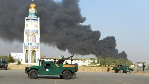 At least 12 killed, dozens wounded in Afghanistan Taliban car bombings