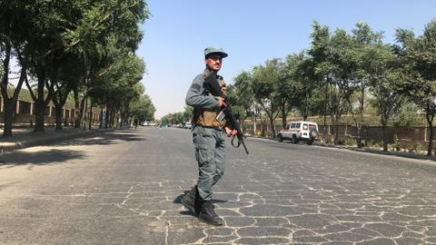 Blast near university in Afghan capital kills eight, wounds dozens