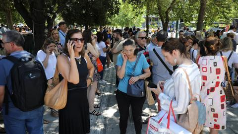 Strong quake near Greek capital Athens sparks fear