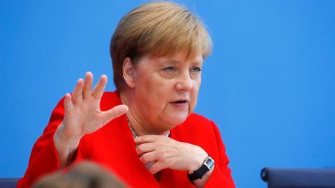 Germany's Merkel 'fit for office,' slams Trump tweets
