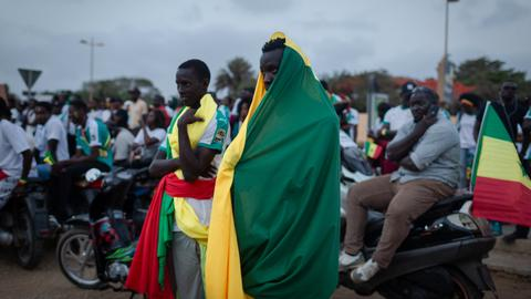 Photo Essay: Algeria dashes Senegal's Africa Cup dreams