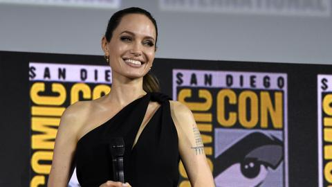 Jolie in 'Eternals', Ali as 'Blade' highlight Marvel's new slate