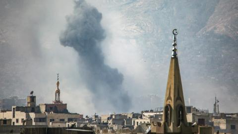 Last week's battle for Damascus has strengthened the opposition