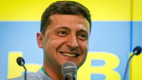 Ukraine president's party on course to win majority in new parliament
