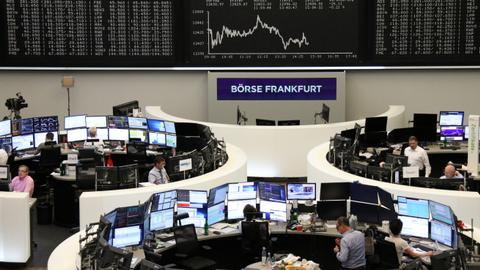 Europe stocks gain, oil jumps on Middle East tensions