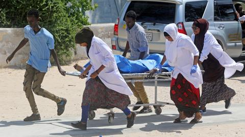 Car bomb attack kills at least 17 in Somalia