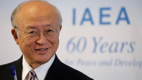 UN nuclear watchdog chief Amano dies at 72
