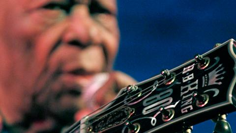 BB King's 'Lucille' guitar going up for auction