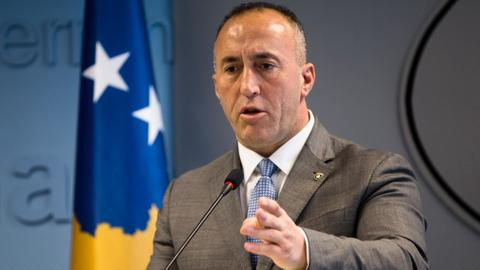 Kosovo prime minister who resigned heads to war crimes court