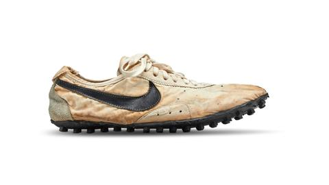 Nike shoes race to $437,500 world record auction price