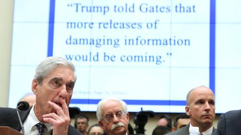 Mueller says he did not exonerate Trump