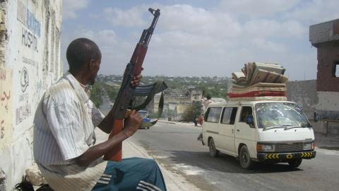 At least six dead as blast targets Mogadishu mayor's office