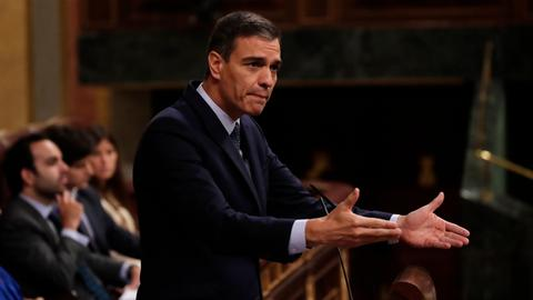 Spain's Sanchez heads to confirmation vote