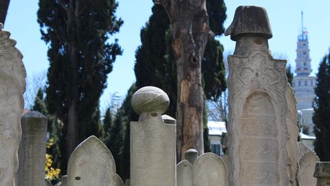 Ottoman gravestones survive the test of time