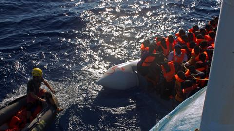 Around 150 migrants feared dead after boats capsize off Libya