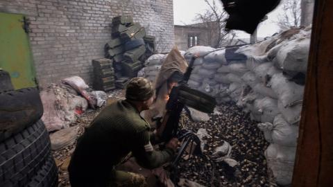 Ukraine conflict rages on in silence