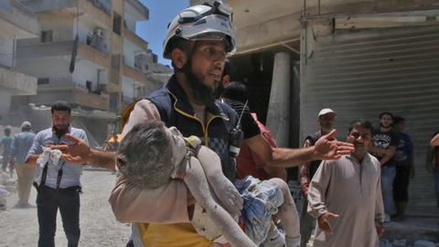 Regime strikes kill 12 civilians in Syria's Idlib – monitor