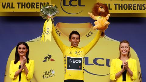 Bernal wraps up 'incredible' Tour de France triumph