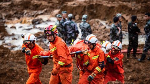 Landslide kills 29 in China's southwest