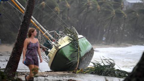 Australia assesses Cyclone Debbie damage