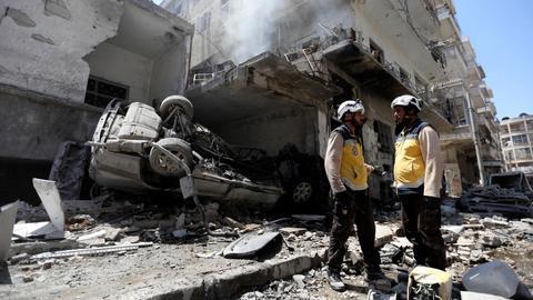 Bombardment in northwest Syria kills nine civilians – monitor