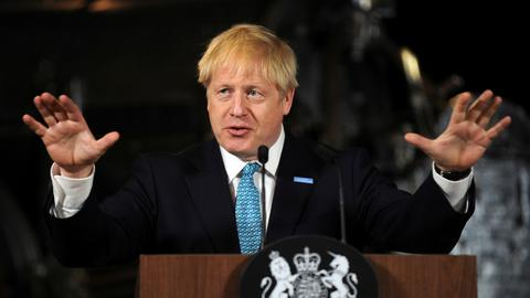 Boris Johnson heads to Scotland amid Brexit disagreement